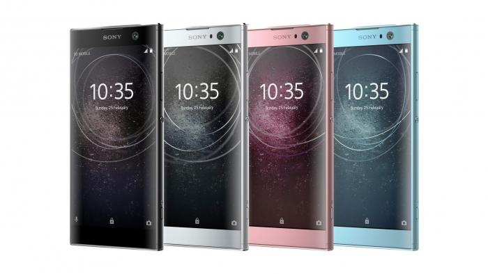 Celulares Sony XA2